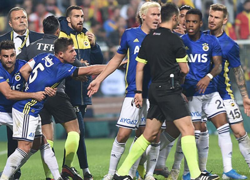 Fenerbahçe'den Göztepe maçı için kural ihlali itirazı!