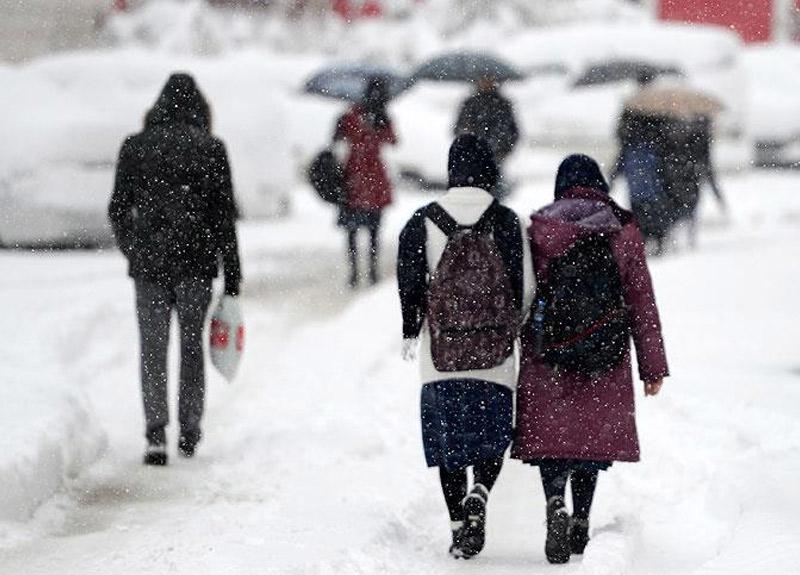 Erzincan'da okullar tatil mi? Milli Eğitim Müdürü'nden kar tatili açıklaması