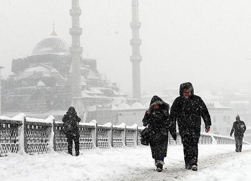 İstanbul'a kar ne zaman yağacak?   5 Aralık Meteoroloji İstanbul hava durumu raporu