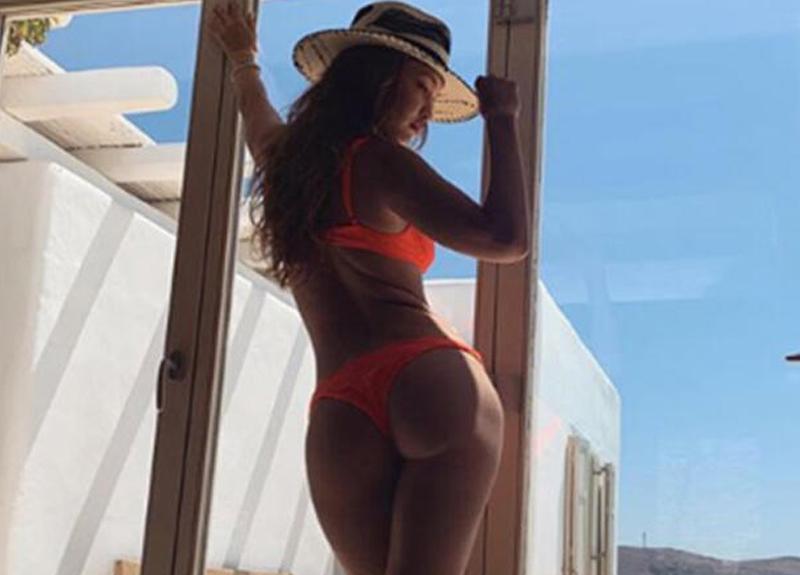 Gigi Hadid'in üstsüz fotoğrafı sosyal medyayı salladı