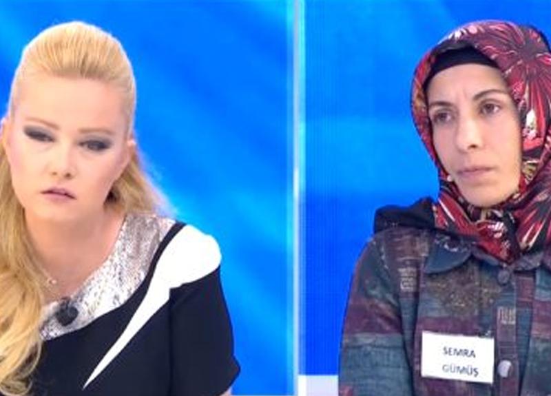 Müge Anlı'nın programına kocasını aramak için katılan Semra Gümüş'ün açıklamaları yayına damga vurdu