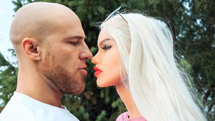Vücut geliştirme sporcusu Yuri Tolochko şişme kadınla evleneceğini duyurdu