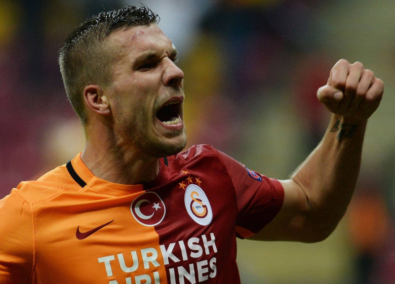 Eski Galatasaraylı Lukas Podolski Antalyaspor'a transfer oluyor