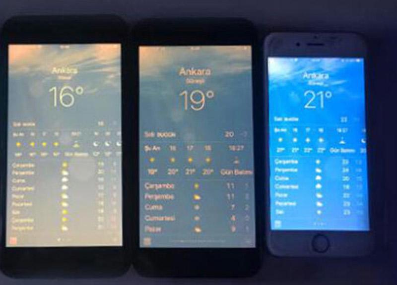 Apple hava durumu hatası! Apple Ankara'daki hava durumunu 10 dereceye kadar daha yüksek gösteriyor