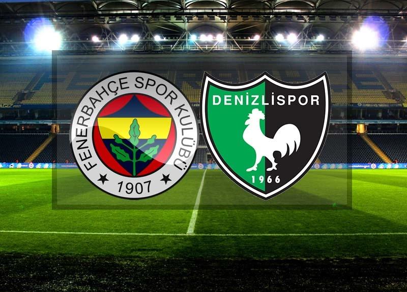 Canlı maç izle! Fenerbahçe - Denizlispor maçı canlı izle | İlk onbirler belli oldu!