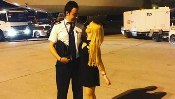 Ece Seçkin'in pilot nişanlısından koronavirüs tahliyesi