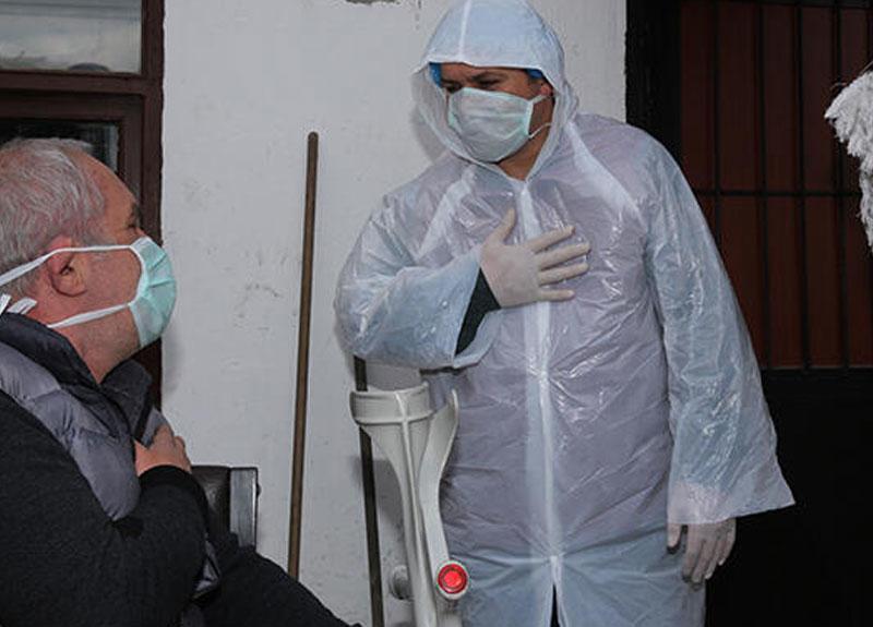 Koronavirüste risk grubunda yer alan yaşlılara yönelik çalışmalar sürüyor