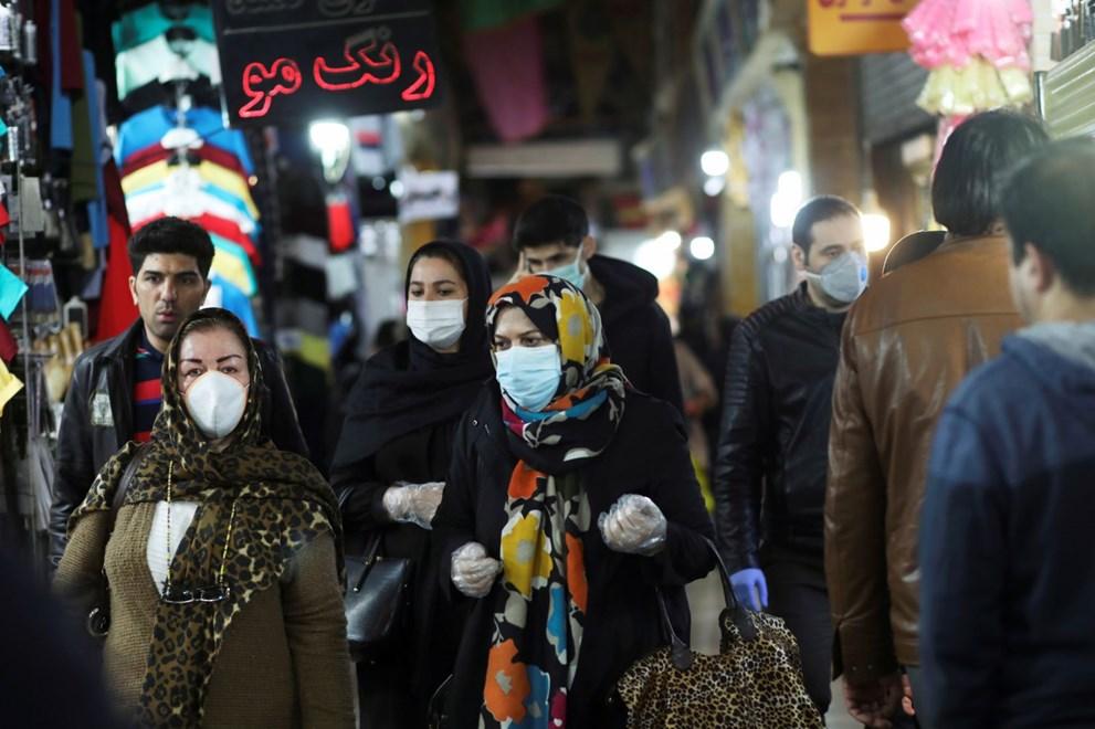 İran dünyanın en büyük AVM'sini hastaneye çeviriyor