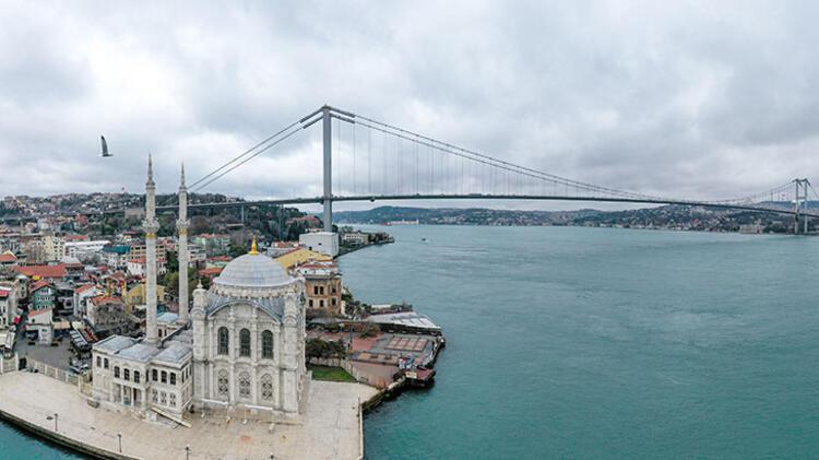 Corona virüs sessizliği! İstanbul'u hiç böyle görmediniz....