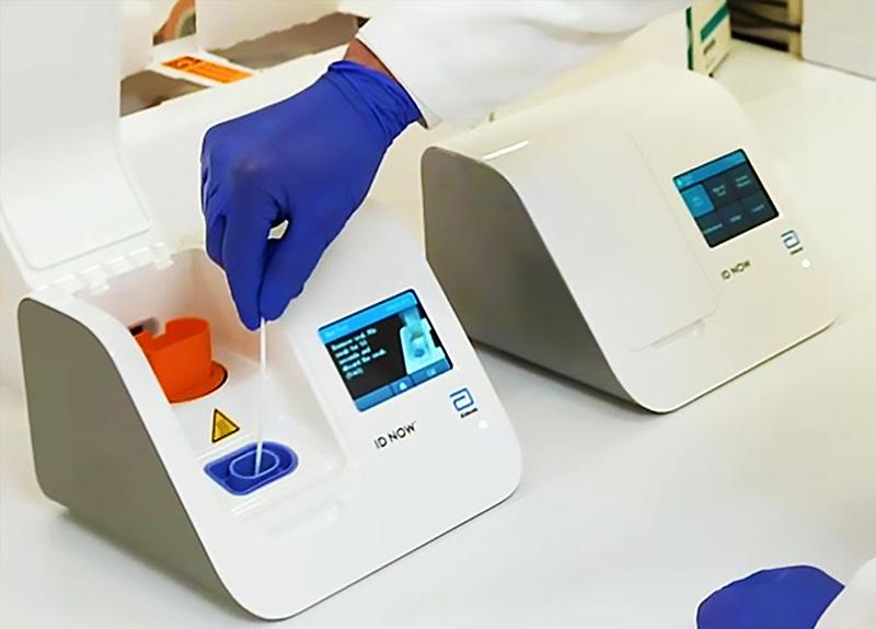 ABD'de 5 dakika içinde koronavirüs sonucu veren test kiti geliştirildi
