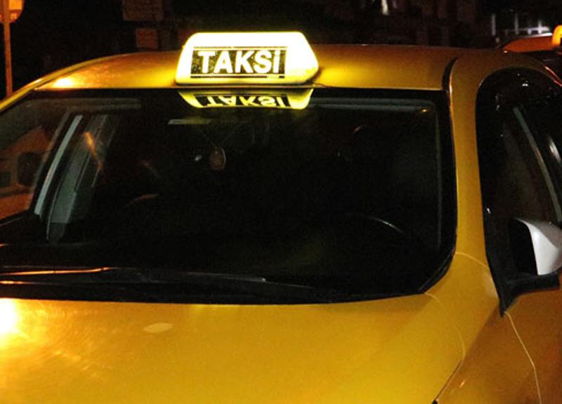 Koronavirüs tedbirleri kapsamında taksilere yönelik kısıtlama uygulanmaya başladı