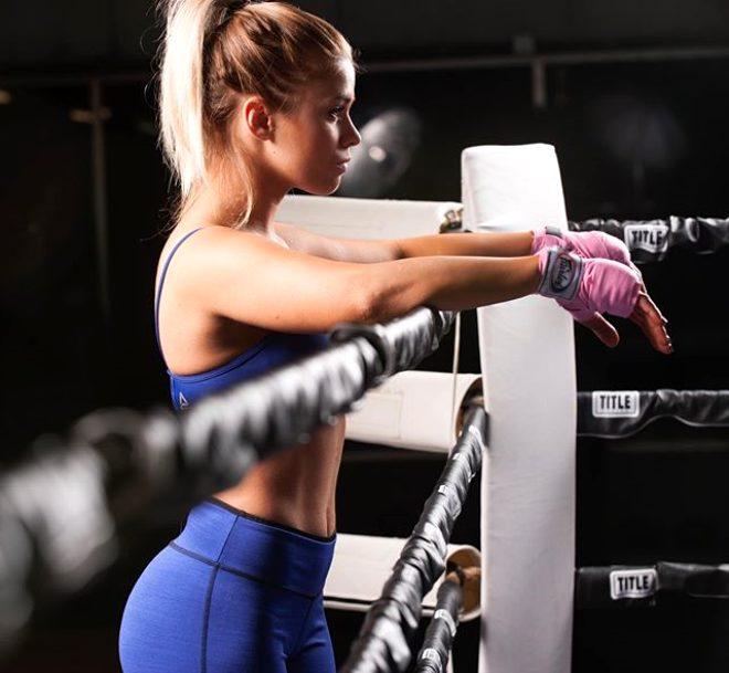 Dövüşçü Paige Vanzant, karantinada eşiyle birlikte çıplak antrenman yapıp sosyal medyada paylaştı