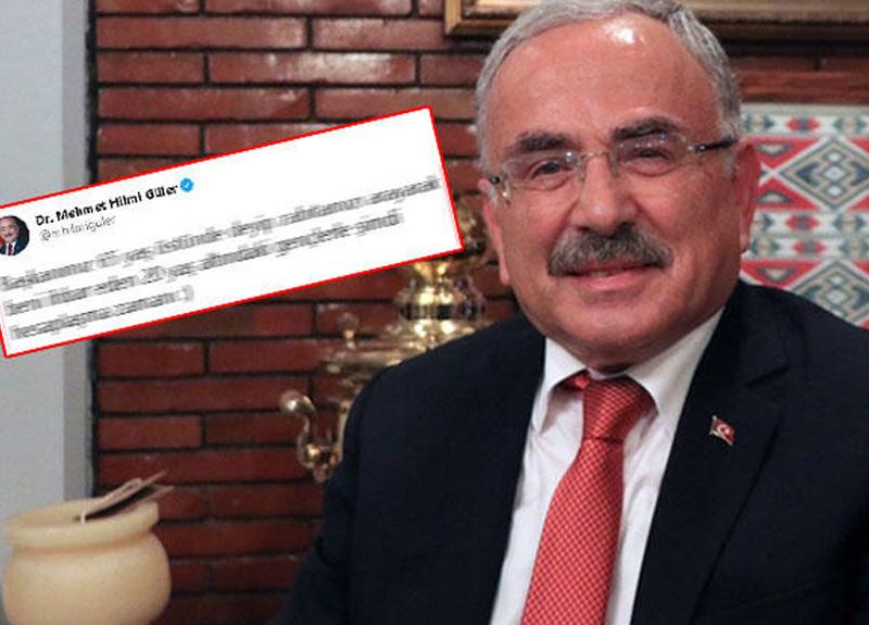 20 yaş altına sokağa çıkma yasağı gelmesinin ardından Ordu Belediye Başkanı Hilmi Güler'den güldüren paylaşım