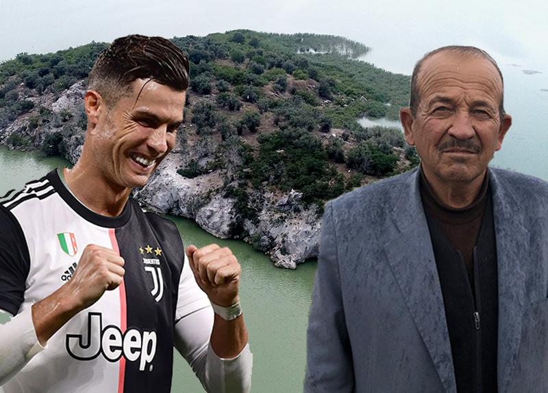 Bursa'daki satılık ada, Ronaldo'nun koronavirüs karantinasından dolayı ilgi odağı oldu!