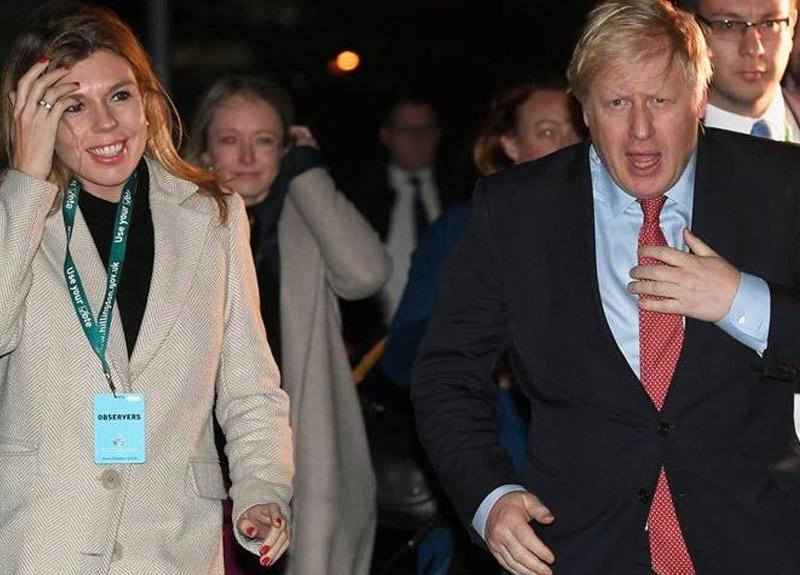 İngiltere Başbakanı Johnson'ın hamile sevgilisinde koronavirüs semptomları görüldü