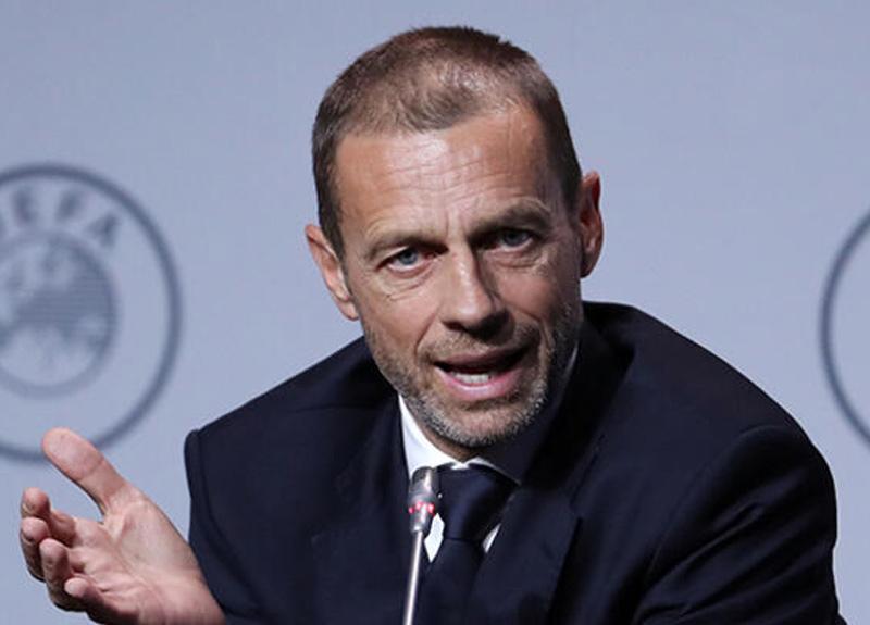 UEFA Başkanı Aleksandar Ceferin, Şampiyonlar Ligi finali için tarih verdi