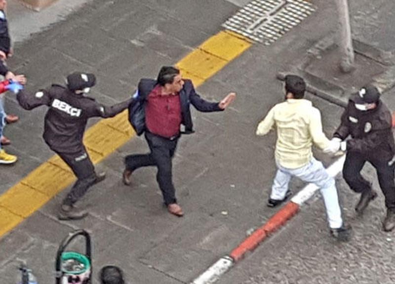 Karabük'te iki kişi sosyal mesafe yasağına rağmen kavgaya tutuştu