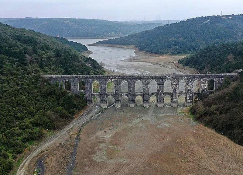 İstanbul barajları doluluk oranları düştü