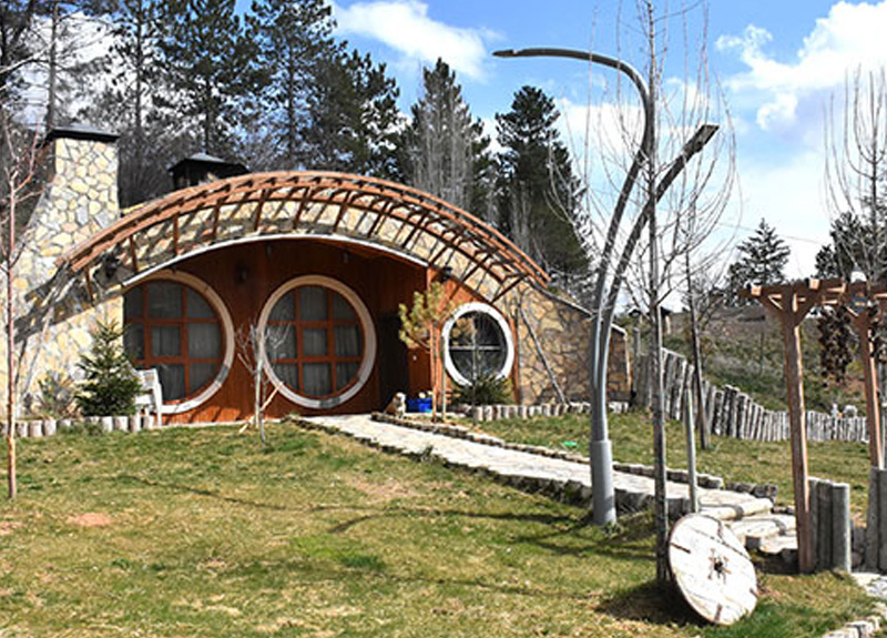 Sivas'ta 'Hobbit' evleri, sağlık çalışanlarına ücretsiz tahsis edilecek