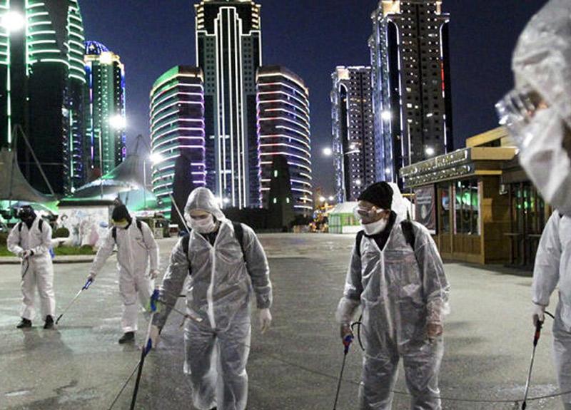 Rusya'da koronavirüs salgınında binin üzerinde yeni vaka!