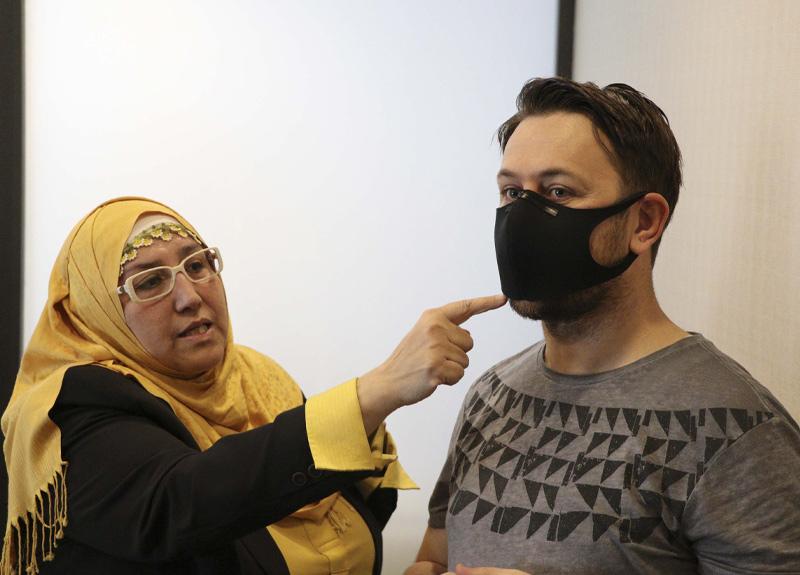 Kişisel Koruyucu Donanım ve A Sınıfı İş Güvenliği Uzmanı Yasemin Öymez: Siyah maskeler polenden korur