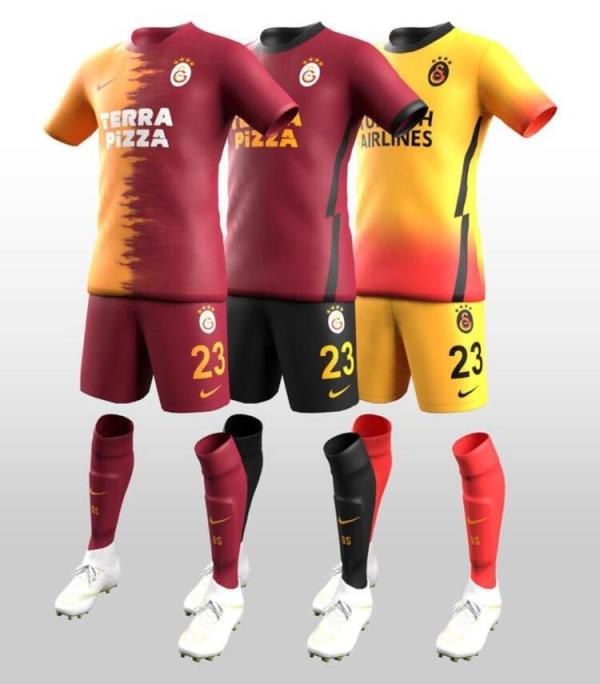 İşte Fenerbahçe ve Galatasaray'ın yeni sezon formaları!