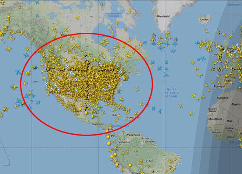 ABD'den gelen görüntü tüm dünyayı şoke etti! Uzmanlar uyardı...
