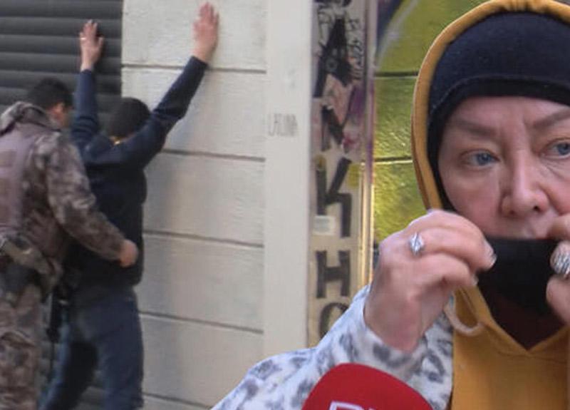 İstanbul Beyoğlu'nda şoke eden olay! 'Arkamdan gelip suratıma öksürdü'