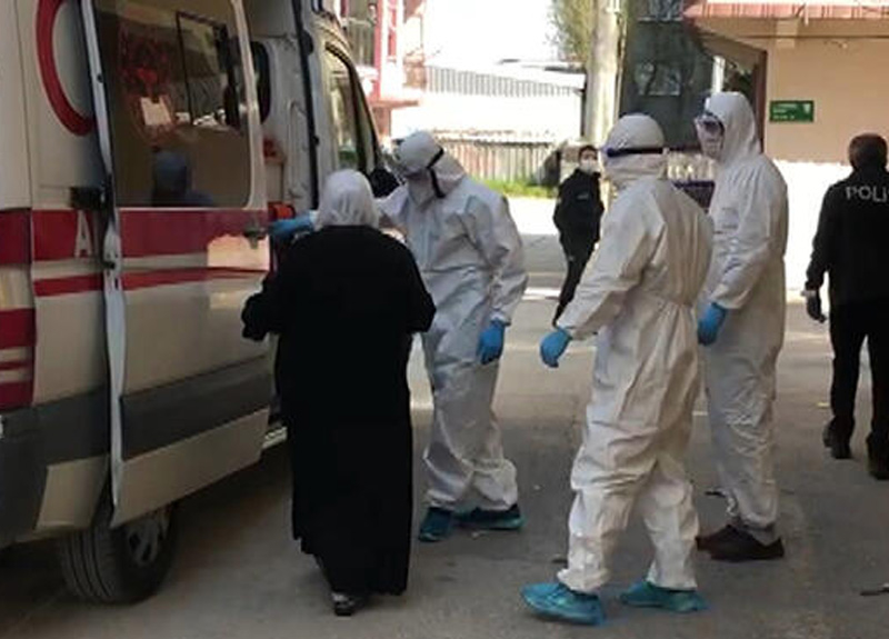 Bursa'da bir kişi koronavirüs tedavisi gördüğü hastaneden kaçtı