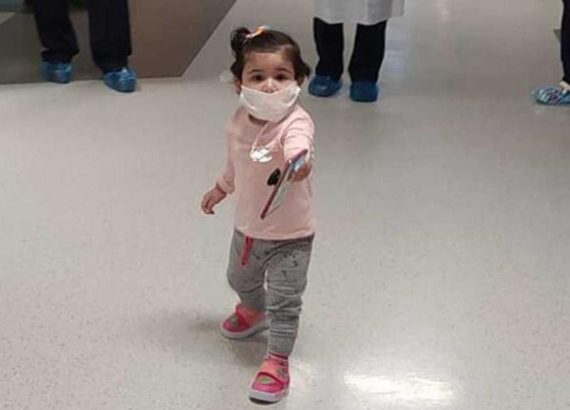 Bursa'dan sevindirici haber! 13 aylık bebek koronavirüsü yendi...
