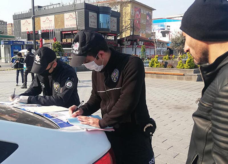 Sokağa çıkma yasağına uymayan vatandaşlara ilk cezalar yazıldı! Sokağa çıkma yasağının cezası ne kadar?