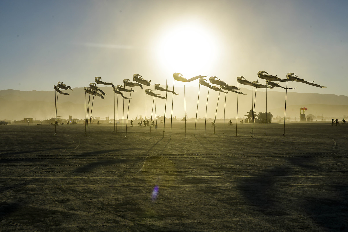 Burning Man, koronavirüs nedeniyle iptal edildi!