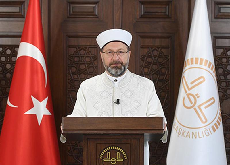 Diyanet İşleri Başkanı Ali Erbaş'tan Ramazan mesajı