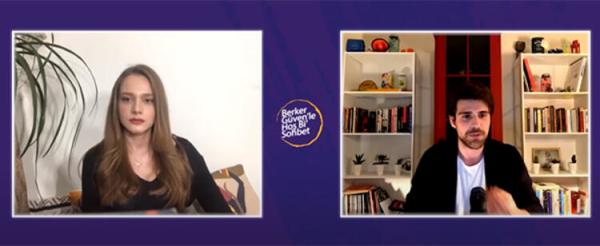 Oyuncu Miray Daner, Berker Güven'in programına konuk oldu!