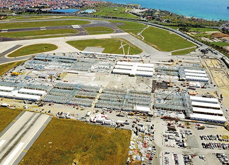 Atatürk Havalimanı ve Sancaktepe'deki biner yataklı salgın hastanesi inşaatında son durum!