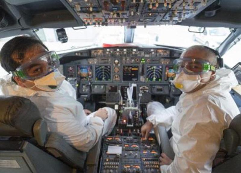 THY'nin tahliye uçuşunda özel anlar!