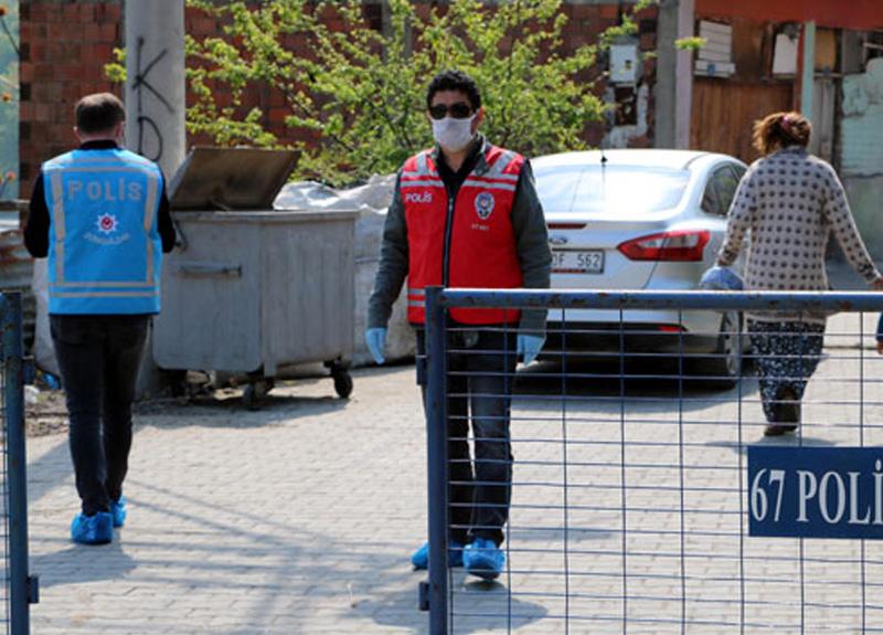 Zonguldak'ta koronavirüs sebebiyle 3 ev karantinaya alındı