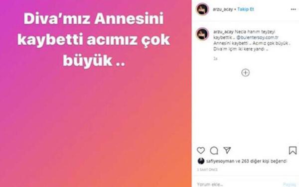 Bülent Ersoy'un annesinin cenaze programı belli oldu