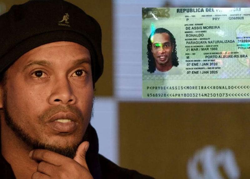 Sahte pasaport nedeniyle kardeşiyle birlikte hapse giren Ronaldinho yaşadıklarını ilk kez anlattı