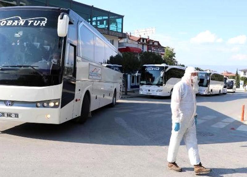 Suudi Arabistan'dan getirilen 160 vatandaşımız 14 günlük karantinaya alındı