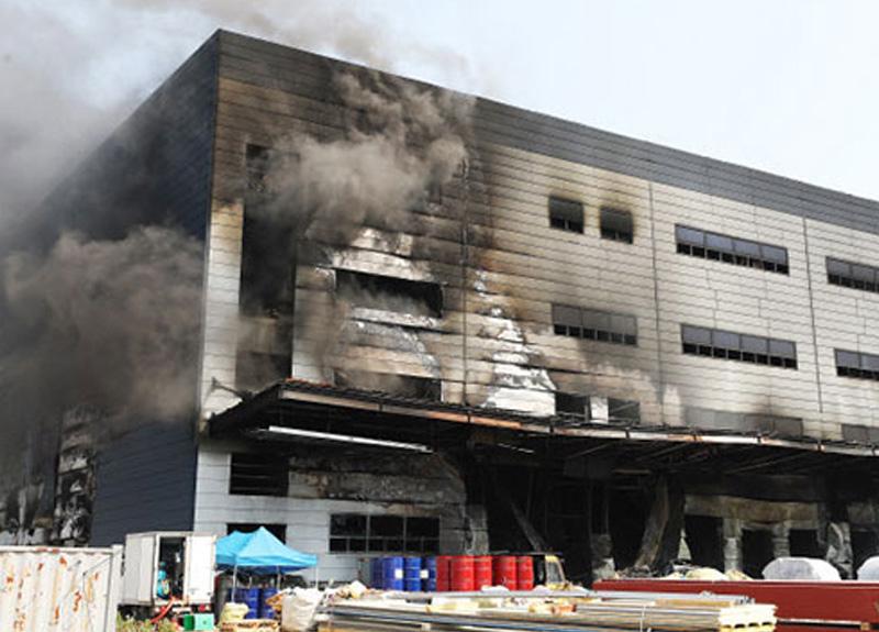 Güney Kore'deki bir şantiyede meydana gelen yangında 25 kişi hayatını kaybetti