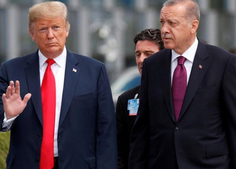 Cumhurbaşkanı Erdoğan, tıbbi yardımlarda beraber ABD Başkanı Donald Trump'a mektup gönderdi