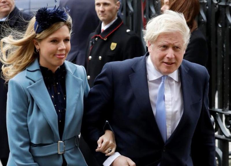 İngiltere Başbakanı Boris Johnson'ın oğlu oldu