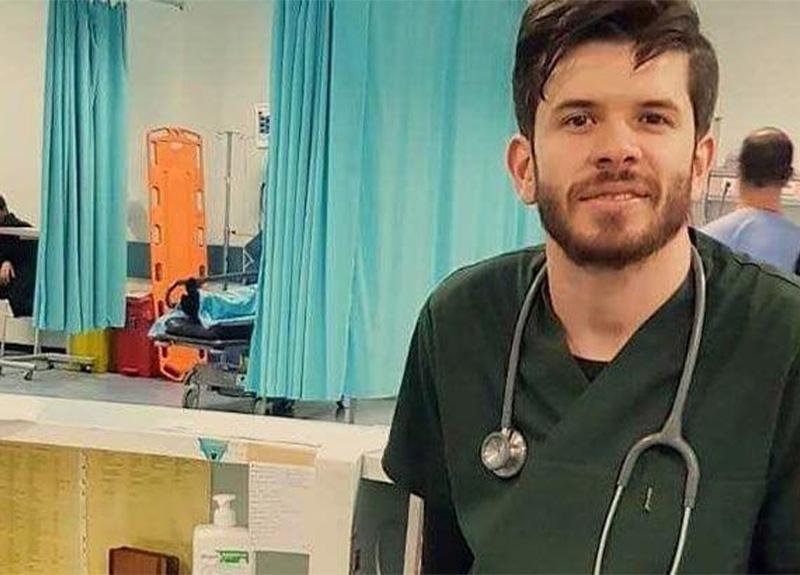 2 ay önce göreve başlayan Filistinli genç doktor koronavirüse yakalandı!