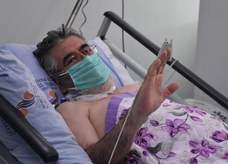 Türkiye'de immün plazma naklinin ilk yapıldığı hasta Abidin Aybar: Kritik dönemdeyim