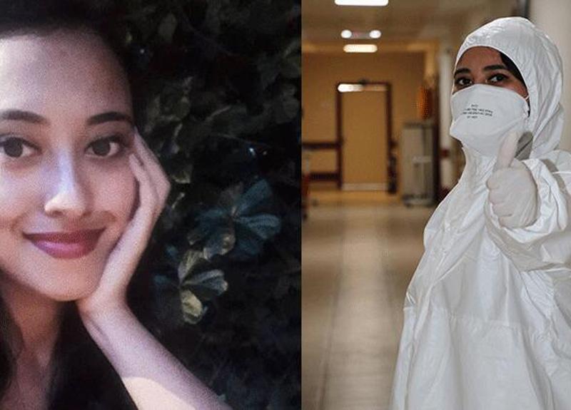 Koronvirüsü atlatan hemşire Kardelen Tercan yaşadığı süreci anlattı