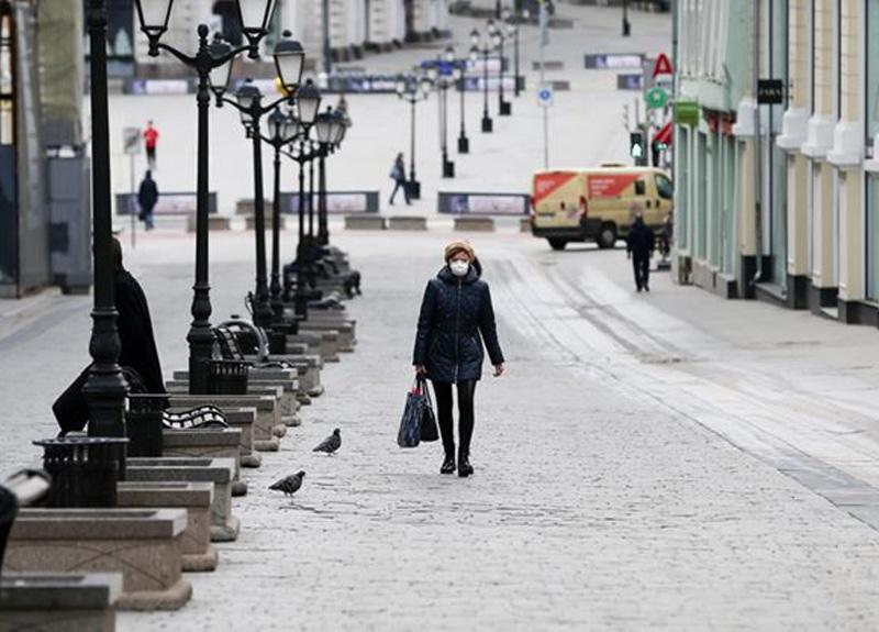Rusya'da koronavirüs vaka sayısı 114 bin 431'e ölü sayısı 1169'a yükseldi