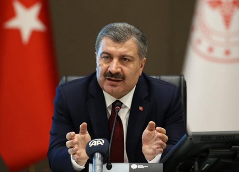 Bakan Koca: Türkiye'de can kaynı 3258'e yükseldi