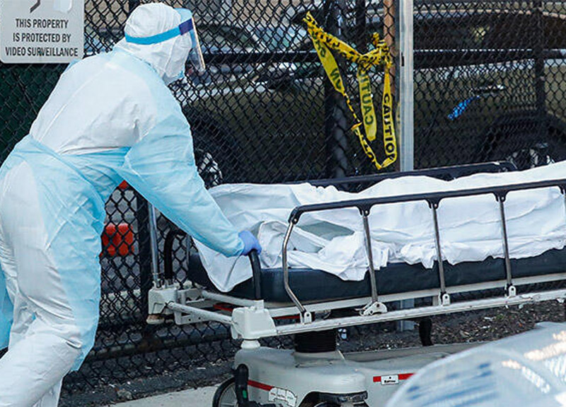 ABD'de koronavirüs felaketi sürüyor! Ölü sayısı 63 bini geçti...
