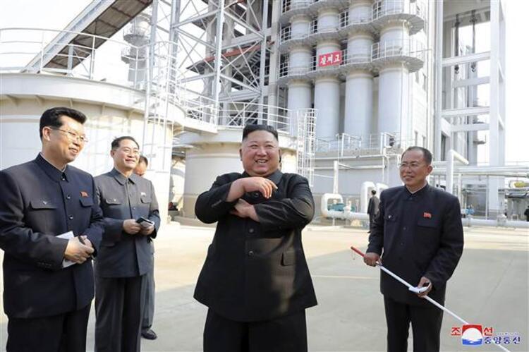 Öldüğü iddia edilen Kuzey Kore lideri Kim Jong-un haftalar sonra ortaya çıktı